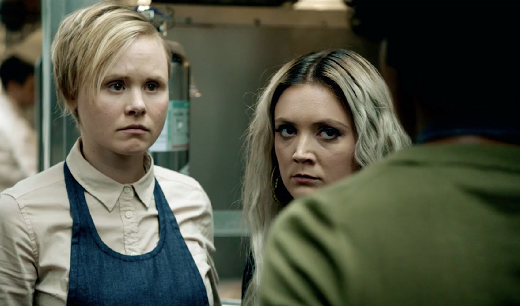Alison Pill Sex Scene american horror story' season 7, episode 8 'winter of our