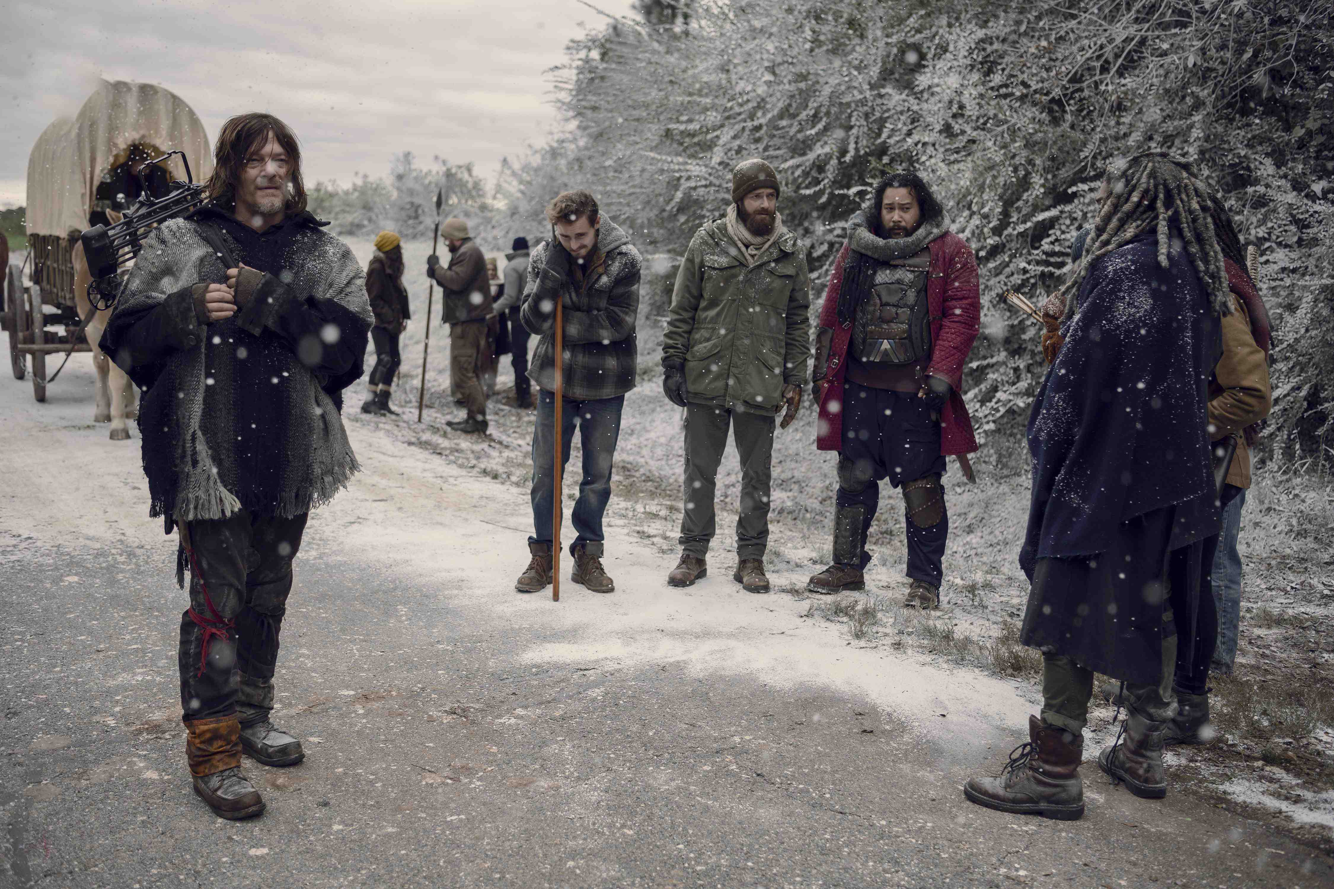 AMC Programming Chief Teases 'The Walking Dead's' Optimistic